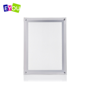 Brazil LED window lighting box slim light box ad display