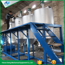 Vegetable oil / Cooking oil / Edible oil refining plant crude oil refining machine