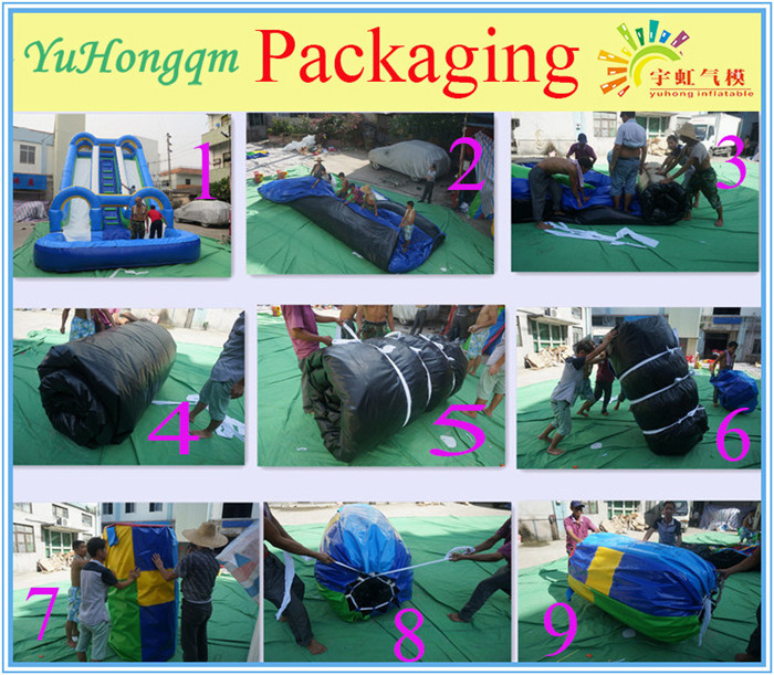 High quality new design water park slides from china for sale new style interesting amusement park