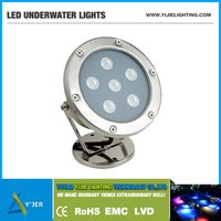 YJS-0001 IP68 waterproof LED underwater light for dock & pond & boat & swimming pool & yacht