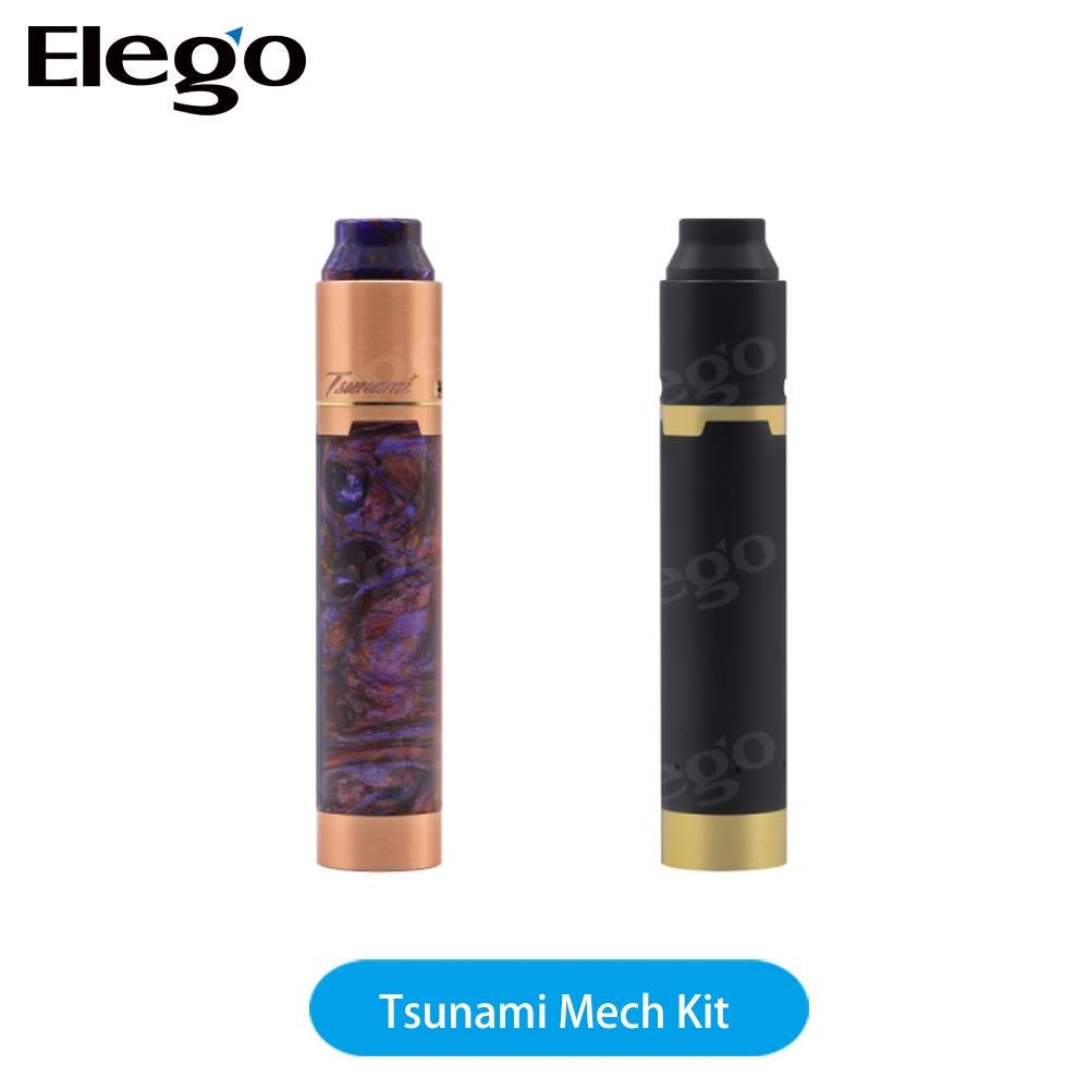 Elego newest Geekvape brass ring mechanical mod+RDA Tsunami 25 tank Geekvape Tsunami Mech Kit