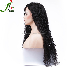 2017 Buy Kinky Curly Lace Front Wigs Peruvian Remy Hair Ladies Wigs Import African American Human Hair Wigs for Bald Women