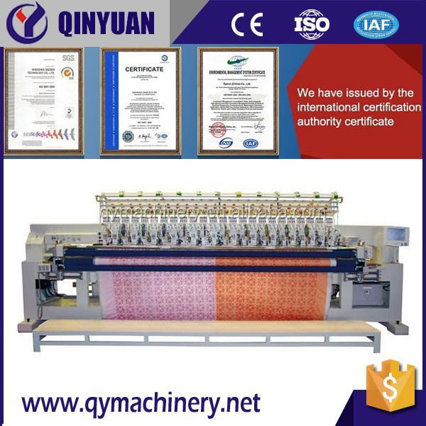 High speed computerized quilting lock stitch embroidery machine