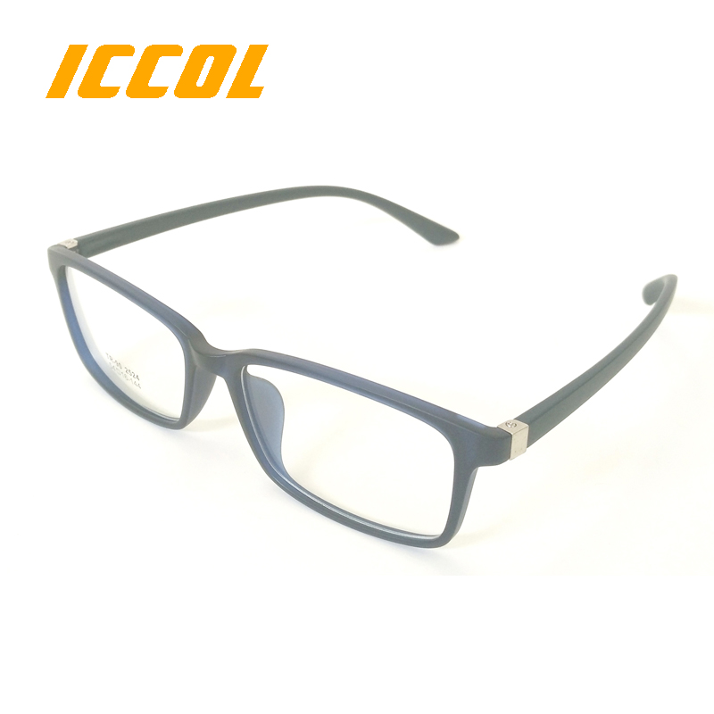 2017 Fashion slim square lady TR90 custom logo clear lens stylish