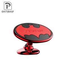 Hot Selling Universal Electroplated Bat Magnetic Car Air Vent Cell Phone Holder Mount