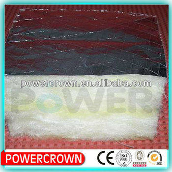foil faced fiber glass wool insulation
