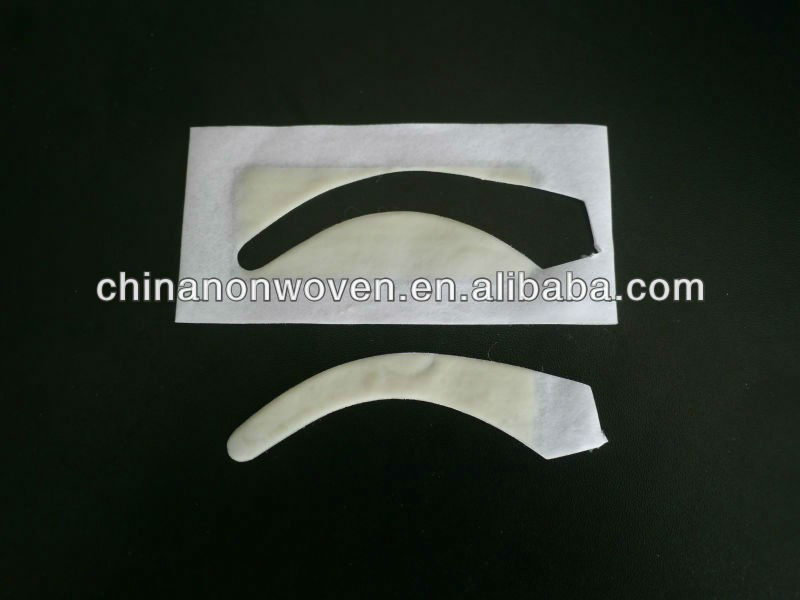 New ready to use wax strips for hair removal(arc shaped)