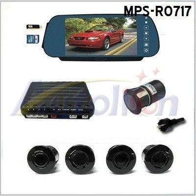 Car Rear View Parking Sensor with Bluetooth 7 inch Monitor MPS-R0717
