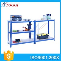 2 layer metal workbench garage storage warehouse workshop steel work bench