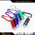 Promotional led keychain plastic promotional gift mini led keychain light