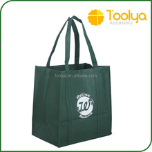 Promotional cheap price PP non woven lamination shopping bag custom logo printing tote bag