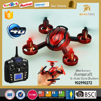 Foreign kids games 2.4G 6-axis rc ufo quadcopter camera