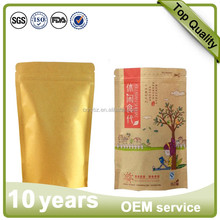 Stand Up Kraft Paper Bag for Tea /Dry Food