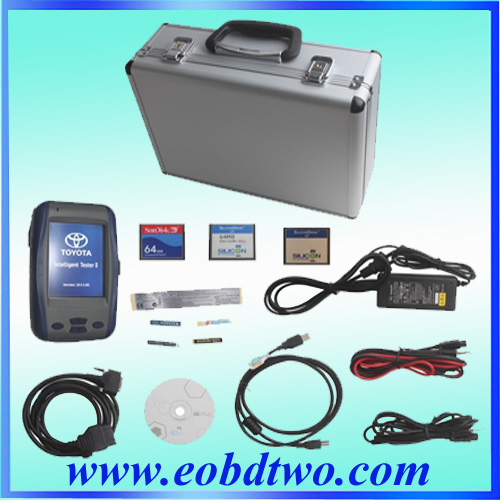 OBDII Intelligent Tester II IT2 for Toyota and suzuki 3cards toyota it2