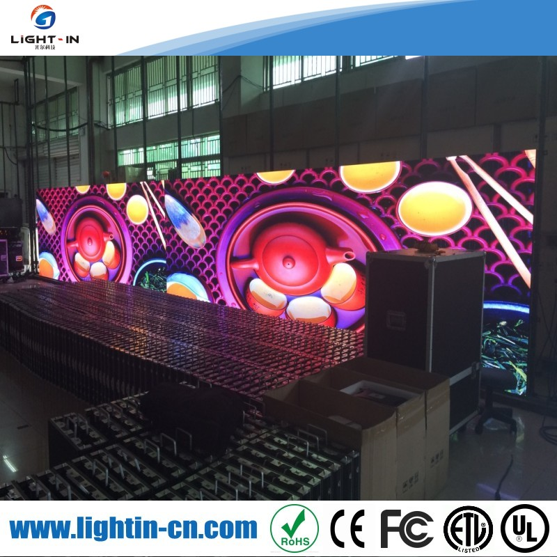 Professional video display function and 4mm pixels indoor stage background led display big screen hot xxx photos led screen