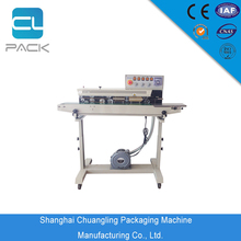 FRQ-980C Continuous Hand Sealer Food Sealing Machine For Plastic Bags