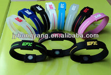 negative ion silicone bracelet manufacturers