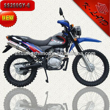 Chinese buy 250cc gas powered enduro dirt bikes (SS250GY-6)