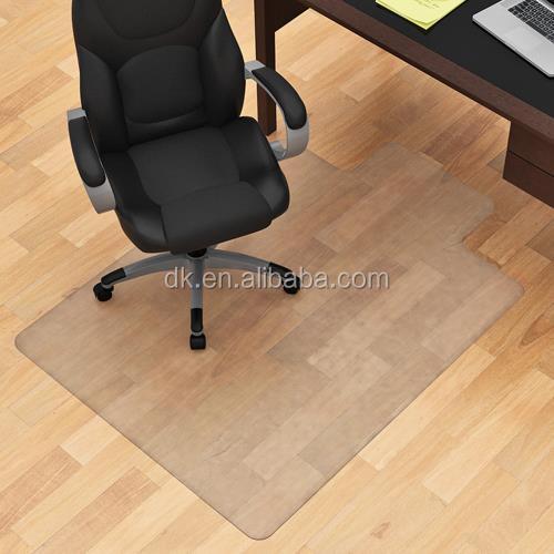 Clear office decorative vinyl floor mats carpet protector runner chair mat for hardwood floors - Office chairs on hardwood floors ...