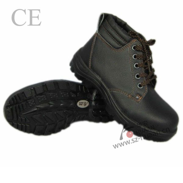 high quality PU steel toe working shoes