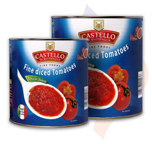 2500 g Fine Diced Tomatoes