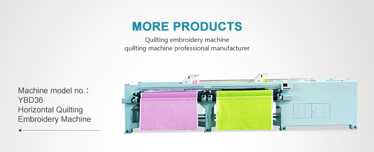 YBD110 computerized rotary shuttle multi-needle mattress quilting machine with 2794mm working width