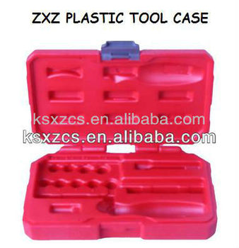 custom portable plastic carrying case with lock