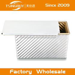 Customized Aluminium Alloy Bread Loaf Tin Toast Box