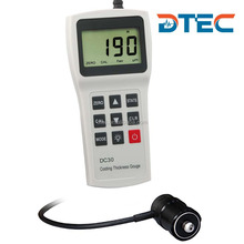 DTEC DC30FH Digital Coating/Painting Thickness Gauge,Large Measuring Rang:0-10000um,with Data Pro Software,