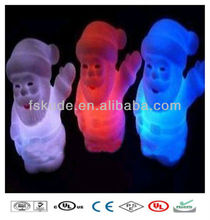 Christmas 2013 Hot Gifts, LED Christmas Light, Multi Color Changing Large Size LED Sant Claus