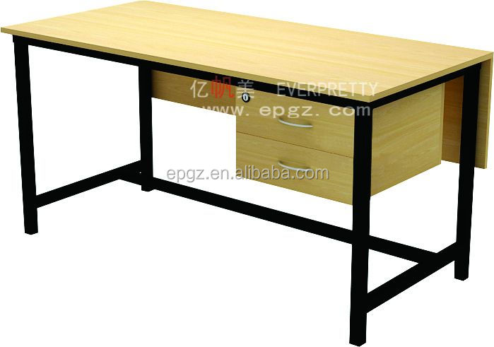 2014 Modern Cheap Wooden Material and Office Furniture Type Employee Staff Table