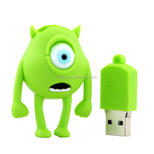 Green Color Carton Memory USB Flash Disk, Usb Flash Drive for Android Phone