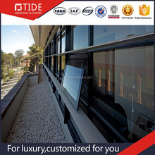 Thermal Broken Energy Saving Aluminum wood composite windowTilt Open Window Awning Window