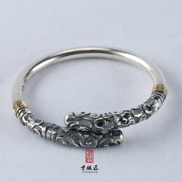 China custom Handmade Antique artist designed sterling silver jewelry for wholesale