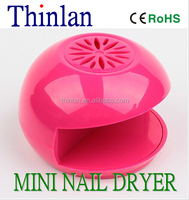 Brand New Thinlan Red Portable Nail Dryer -Stylish & Compact -Every Girls Must Have!! - Ideal Christmas/ Gift / Stocking Filler