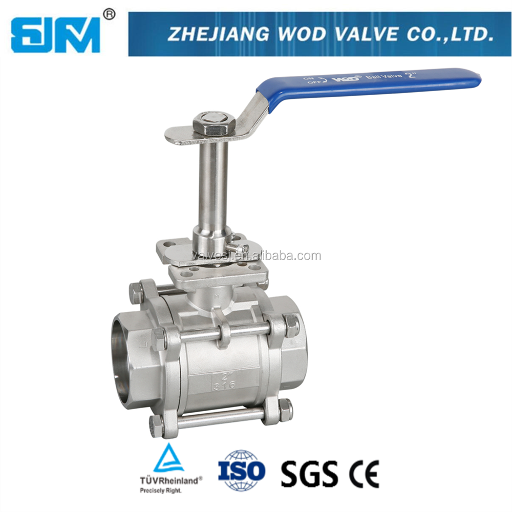 China Long stem high performance ball valve with good price