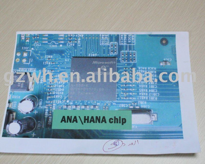 ANA/HANA ic for Xbox 360 video game accessories