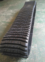 ASV RC100 Loader Rubber Track, for Construction Machinery Rubber Track Parts from Factory Manufacture