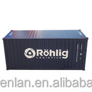 20 feet Metal Container Models 1:30 20CM(l)X8.3CM(W)X8.7CM(H)