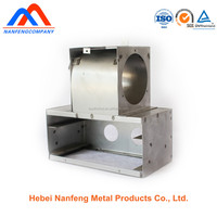CNC punching electric meter box parts