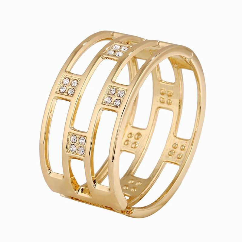 Fashion Flexible Size Dubai Bracelet Jewelry Gold Buckle Snap Bangles For Women