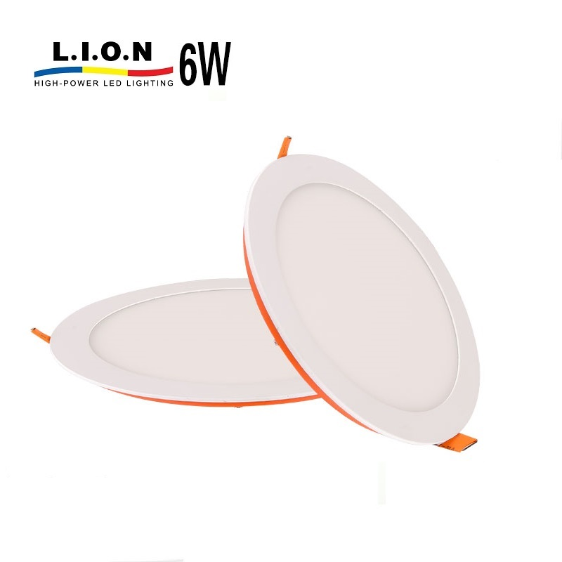 High quality skd indoor energy saving ultra slim <strong>led</strong> panel <strong>light</strong> 6w