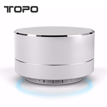Colorful mini led USB bluetooth speaker with wireless portable Support TF speaker