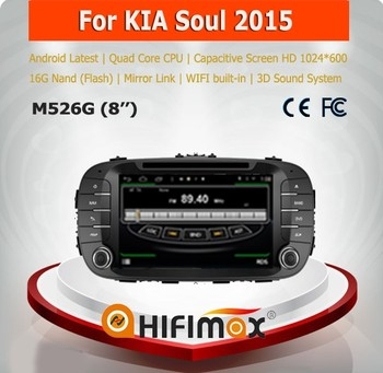 Hifimax Car DVD GPS for KIA Soul (2008-2011) car radio dvd gps navigation system with Bluetooth mp3 mp4