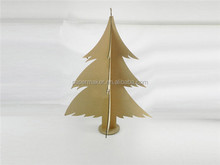 wholesale recyclable cardboard paper christmas decor tree