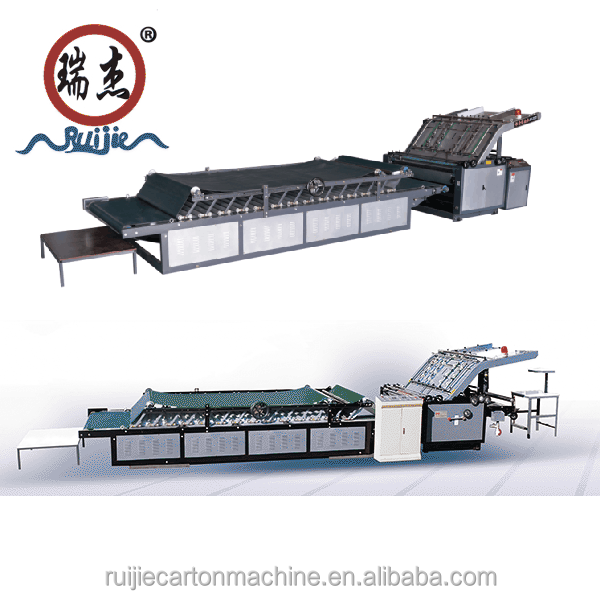 Ruijie Corrugated Board Flute laminating machine, Kalaka nui-ola auto Corrugated Papa hano laminating Maker