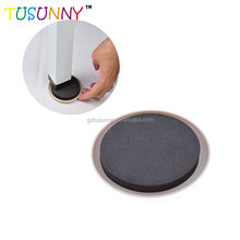adjustable adhesive plastic furniture glides for chairs