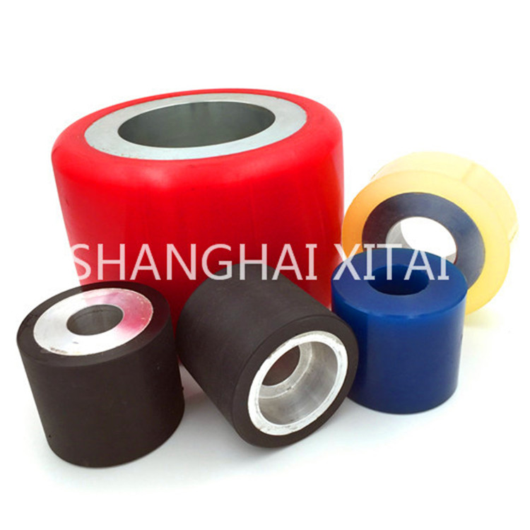 High Quality plastic hub wheelchair wheel Custom polyurethane wheel