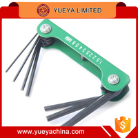 7 BIKE BICYCLE FOLDING HEX WRENCH TOOL SET