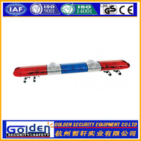 DC 12V halogen warning flashing light bar
